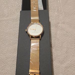 Eddie Borgo stainless steel rose gold Watch